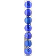 Шар d-5 cм 7 шт/уп, синий