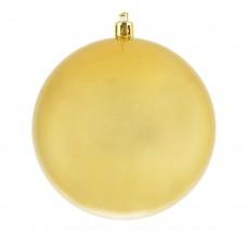 Шар d-8 см золотой перламутр