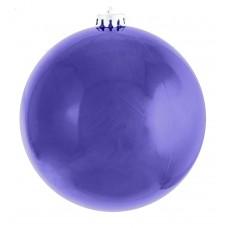 Шар d-25 см синий перламутр