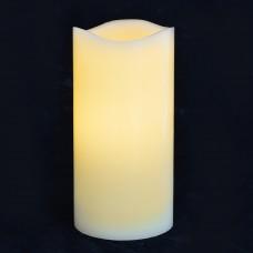 Свеча восковая LED, 7.5*15