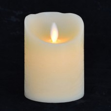 Свеча восковая LED, 7.5*10 (подвижный фитиль)