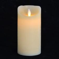 Свеча восковая LED, 7.5*15 (подвижный фитиль)