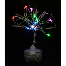 "Электрогирлянда LED-нить, ""Light for water"" водонепр, 15 ламп, многоцветная, 1,60 м"