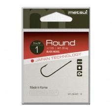 Крючки Metsui ROUND цвет bln, размер № 18, в уп. 12 шт. (8803720032274)
