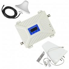2G/3G/4G репитер усилитель мобильной связи и интернета 900/2100/2600 МГц (Киевстар, Vodafone, Lifecell)